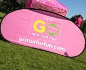 Over 2200 children have fun at the Go Run For Fun event!